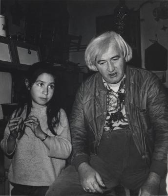 Bill Tate & Kathy Cordova in Truchas,NM