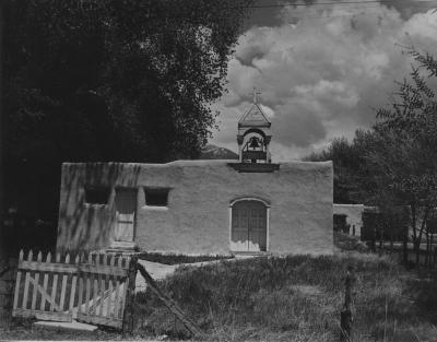 Chapel in El Prado, NM 1970's