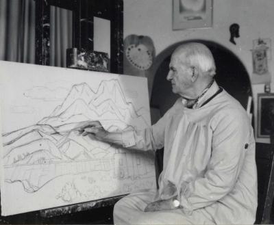 E.J.-Bisttram Taos Artist 1895-1976