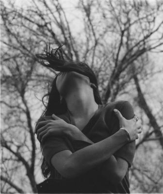 Girl & Trees.