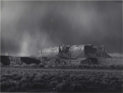 Storm North of Many Farms, Navajo Reservation