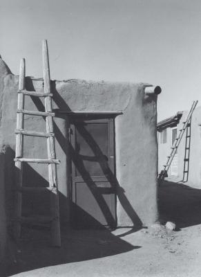 Taos Pueblo Ladders